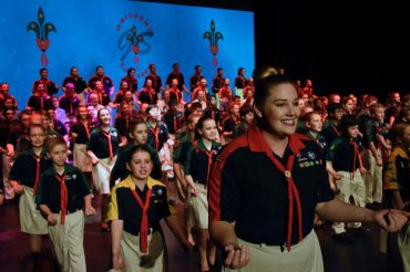 Kedron Scouts shine at Brisbane Gang Show 2017