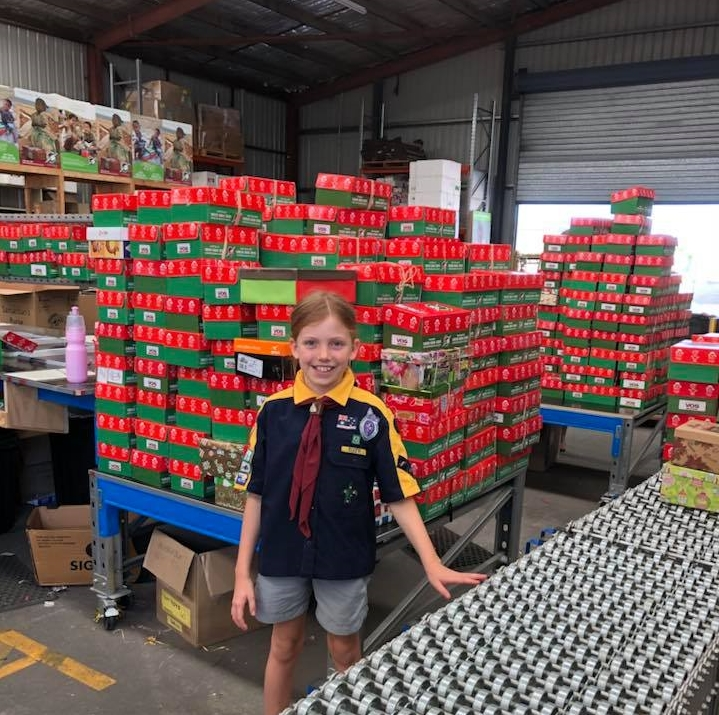Kedron Cub Scouts donate to charity