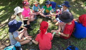 Kedron Cub Scouts at Karingal